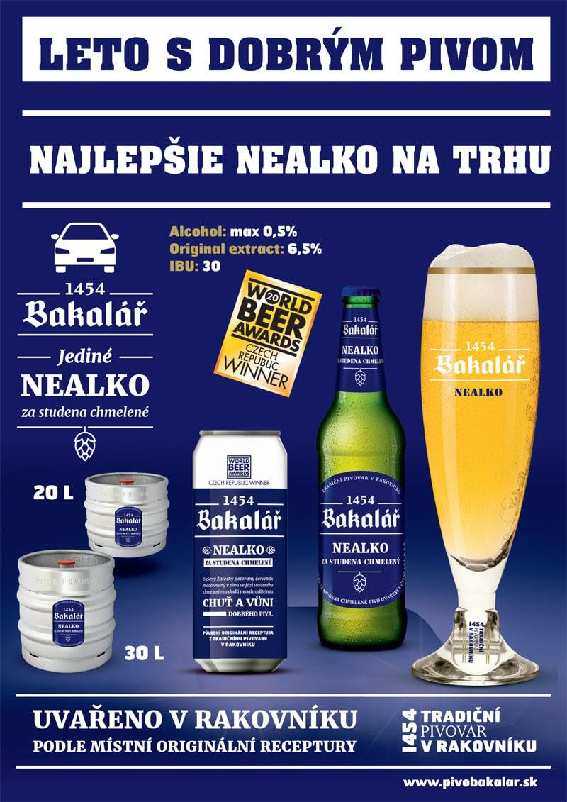 Bakalář - najlepšie nealko pivo na trhu